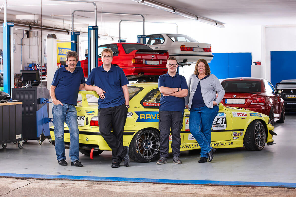 BRT Automotive - Das Team