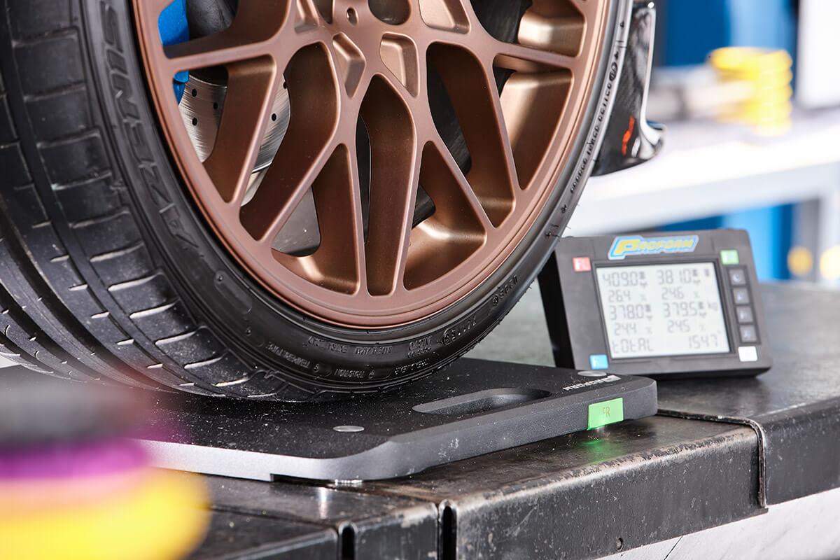 BRT Automotive Fahrwerk Analyse
